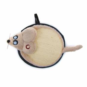 Sisalové škrabadlo myš