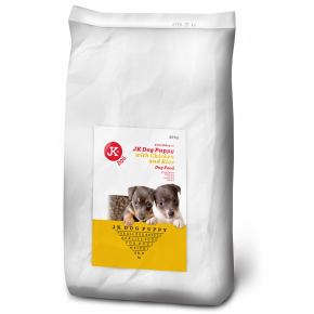 JK DOG Puppy with Chicken and Rice, granule 20 kg