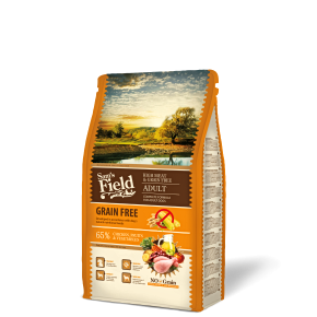 Sams Field Adult High Meat & Grain Free, superprémiové granule 2,5 kg (Sam's Field)
