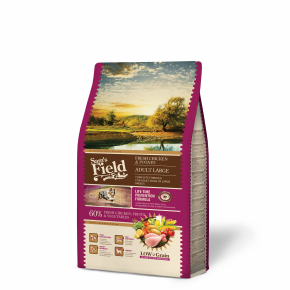 Sams Field Adult Large Chicken & Potato, superprémiové granule 2,5 kg (Sam's Field)