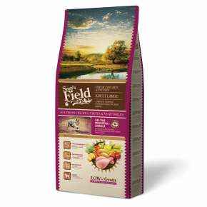 Sams Field Adult Large Chicken & Potato, superprémiové granule 13 kg (Sam's Field)