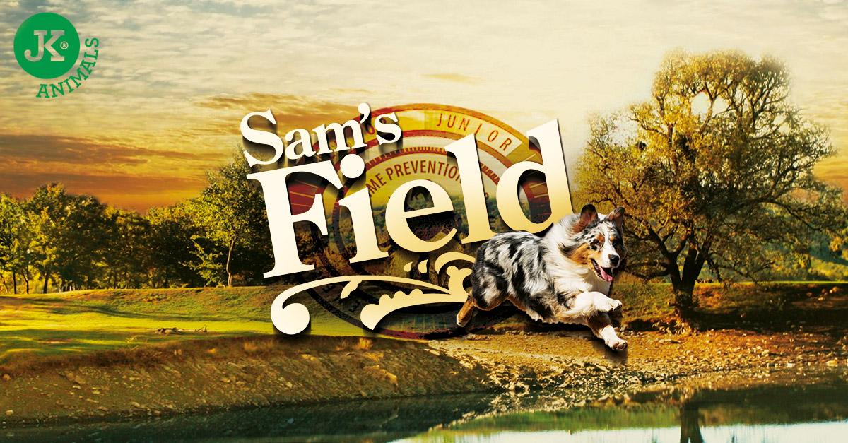 Sam's Field Adult Medium Chicken & Potato   © copyright jk animals, všechna práva vyhrazena