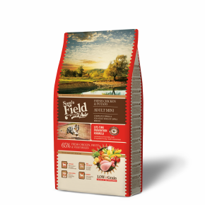 Sams Field Adult Mini Chicken & Potato, superprémiové granule 8 kg (Sam's Field)