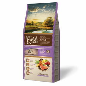 Sams Field Adult Salmon & Potato, superprémiové granule 13 kg zdarma (Sam's Field)