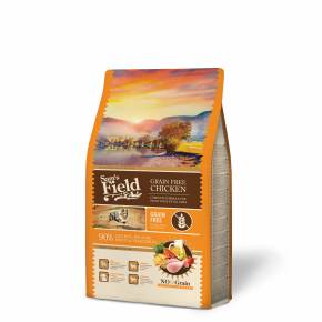 Sams Field Grain Free Chicken, superprémiové granule 2,5 kg (Sam's Field)