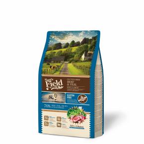 Sams Field Gluten Free Adult Large Beef & Veal, superprémiové granule 2,5kg (Sam's Field)