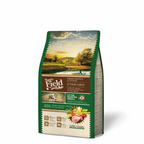 Sams Field Junior Large Chicken & Potato, superprémiové granule 2,5 kg (Sam's Field)