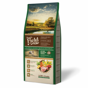 Sams Field Junior Large Chicken & Potato, superprémiové granule 13 kg (Sam's Field)
