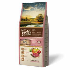 Sams Field Light & Senior Lamb & Rice, superprémiové granule 13 kg (Sam's Field)