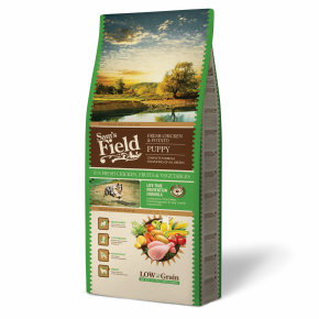 Sams Field Puppy Chicken & Potato, superprémiové granule 13 kg (Sam's Field)