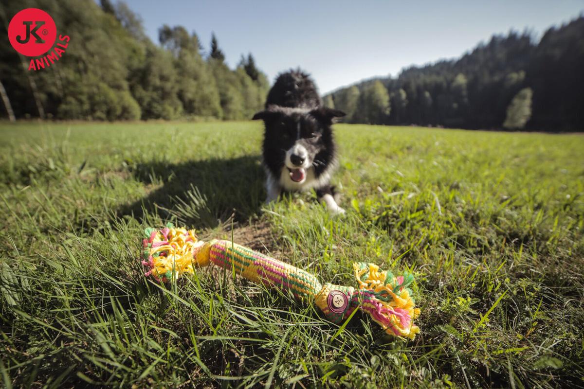 JK ANIMALS Bavlněný pískací uzel 40cm | © copyright jk animals, všechna práva vyhrazena