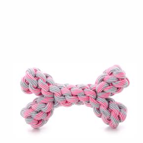 Bavlněná kost růžová, bavlněná hračka