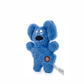 Jemný plyšový pejsek modrý, plyšová hračka
