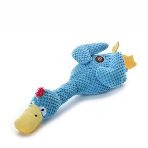 Plyšová kachna, plyšová pískací hračka