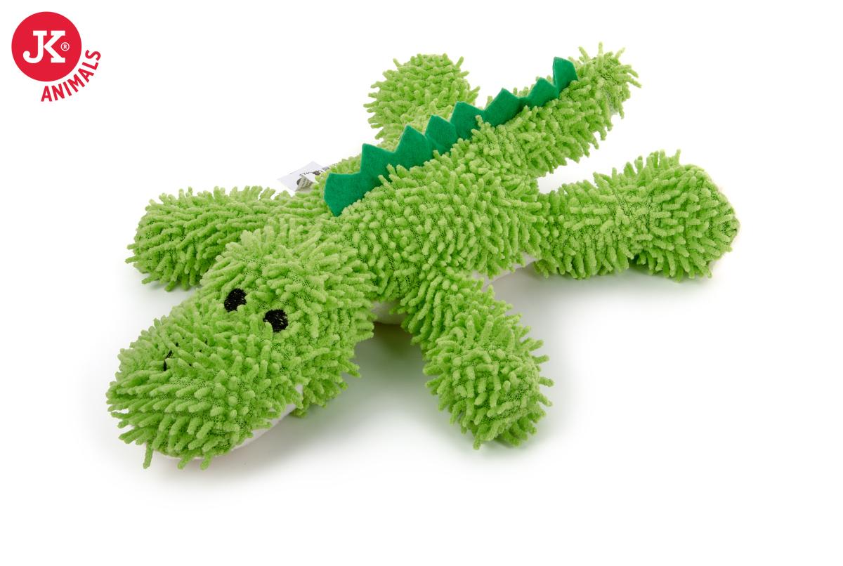 JK ANIMALS Plyšový krokodýl mop z jemného froté materiálu | © copyright jk animals, všechna práva vyhrazena