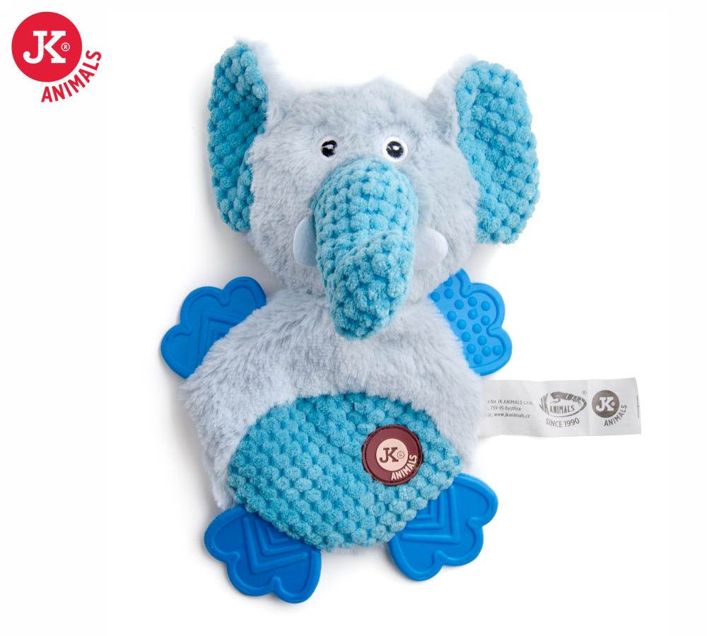 JK ANIMALS Plyšový slon s TPR packami | © copyright jk animals, všechna práva vyhrazena