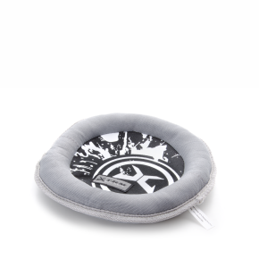 X-TRM - Frisbee šedočerné, nylonová hračka