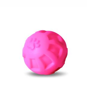 Vinylový míč – tlapka L, pr. 10 cm, vinylová (gumová) hračka