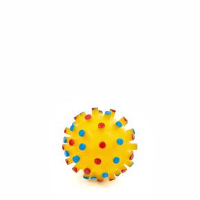 Vinylový míč s bodlinami 7 cm, vinylová (gumová) hračka