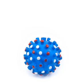 Vinylový míč s bodlinami 8,5 cm, vinylová (gumová) hračka