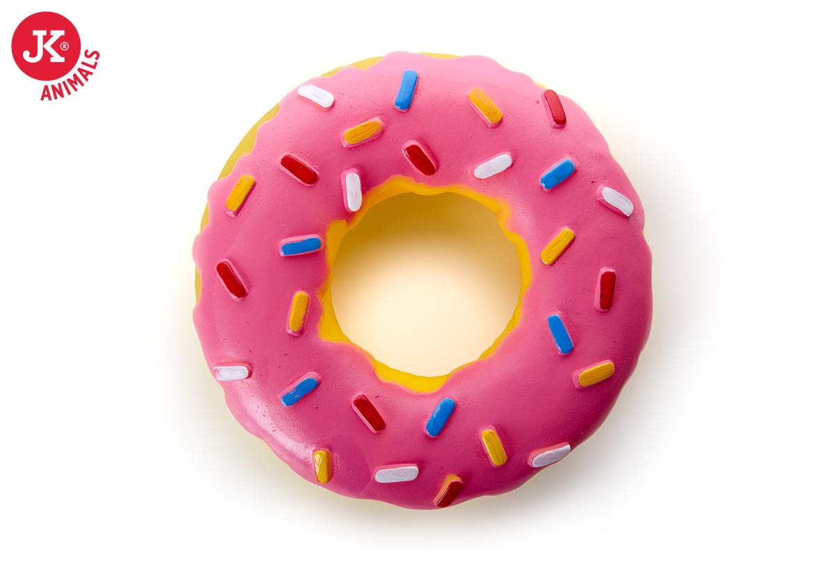 JK ANIMALS vinylová pískací hračka Donut XL   © copyright jk animals, všechna práva vyhrazena