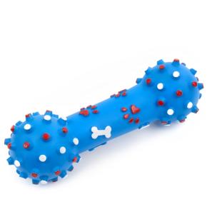 Vinylová činka – bodliny 26 cm, vinylová (gumová) hračka