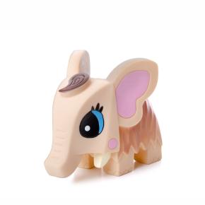 Vinylový mamut cca 11cm, vinylová (gumová) hračka