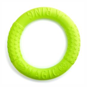 Magic Ring zelený 27 cm, odolná hračka zEVA pěny