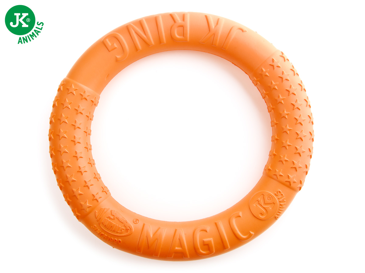 JK ANIMALS Magic Ring oranžový | © copyright jk animals, všechna práva vyhrazena