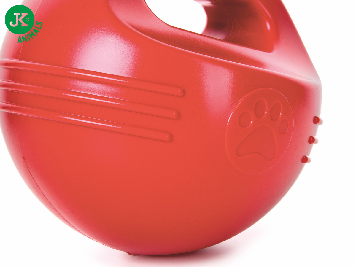 JK ANIMALS TPR – míč s uchem červený | © copyright jk animals, všechna práva vyhrazena