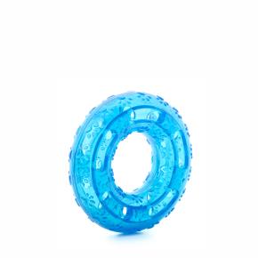 TPR – kruh modrý, odolná (gumová) hračka ztermoplastické pryže