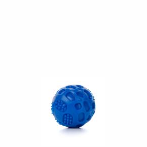 TPR – míč Strong modrý, odolná (gumová) hračka ztermoplastické pryže