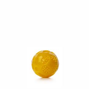 TPR – míč Strong žlutý, odolná (gumová) hračka ztermoplastické pryže