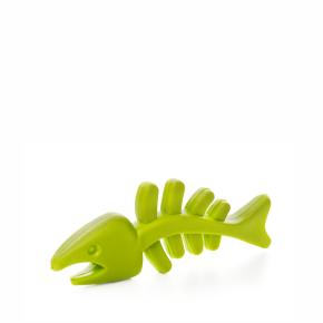 TPR - Zelená rybí kost, odolná (gumová) hračka ztermoplastické pryže