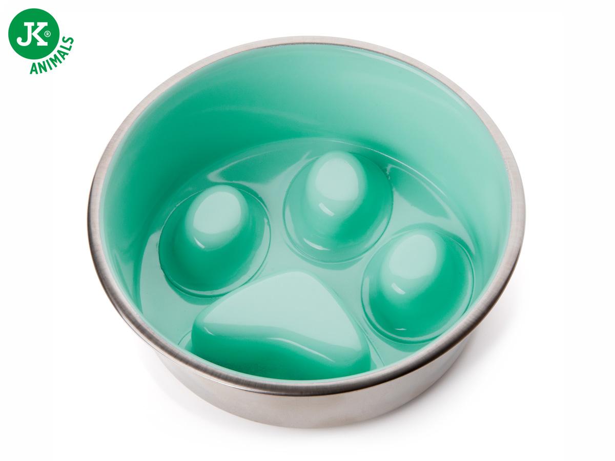 Nerezová miska proti hltání pro psa pr. 16 cm | © copyright jk animals, všechna práva vyhrazena