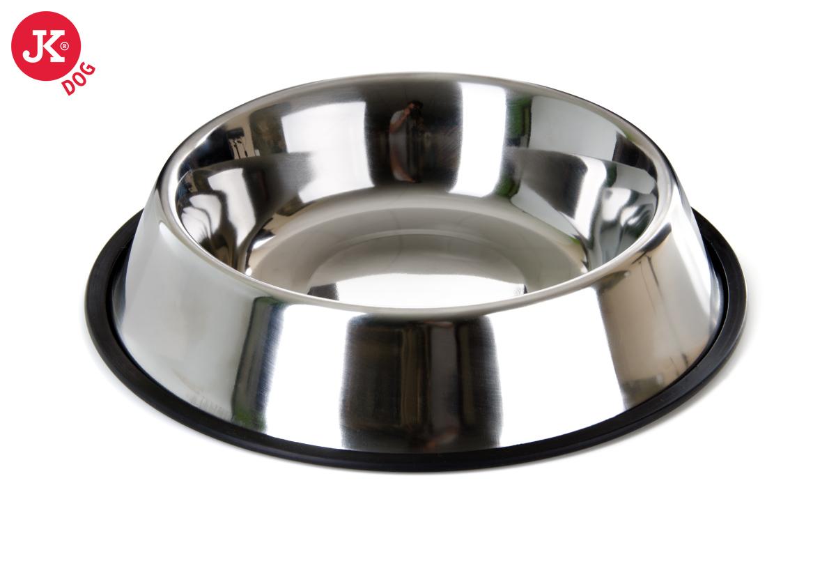 Nerezová miska pro psa pr. 23 cm | © copyright jk animals, všechna práva vyhrazena