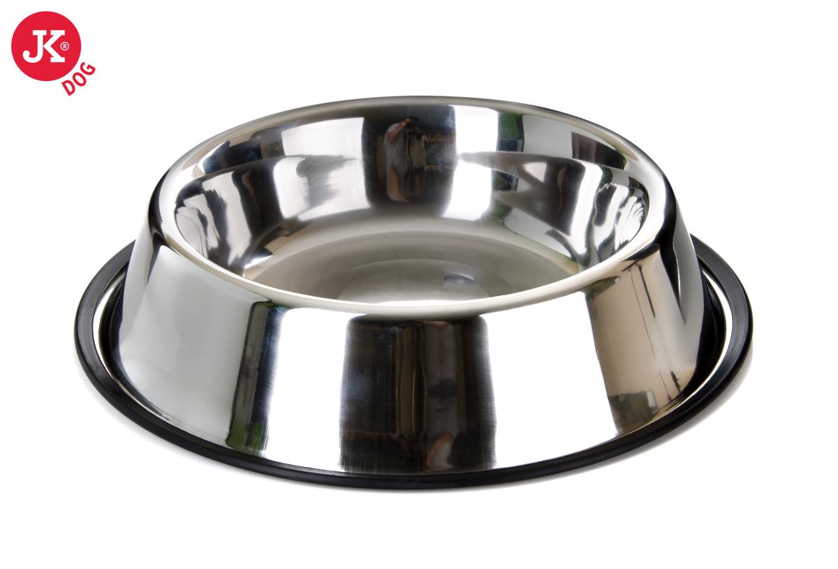 Nerezová miska pro psa pr. 25 cm | © copyright jk animals, všechna práva vyhrazena