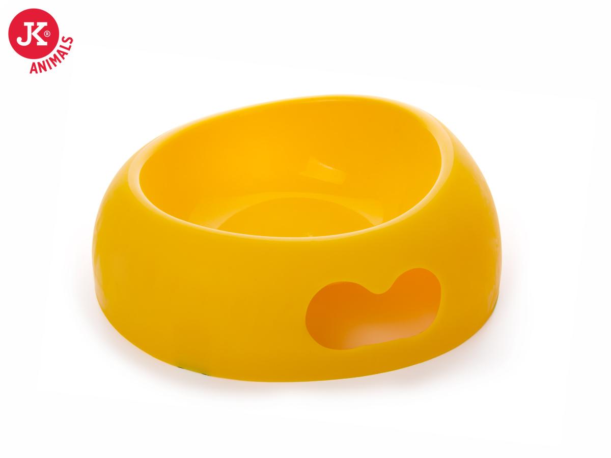 JK ANIMALS plastová miska Large žlutá | © copyright jk animals, všechna práva vyhrazena