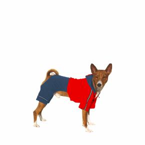 Kombinéza Kim 1 – modro-červená