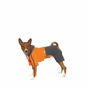 Kombinéza Kim 1 – oranžovo-šedá