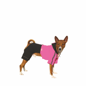 Kombinéza Kim 2 – růžovo-černá