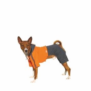 Kombinéza Kim 3 – oranžovo-šedá