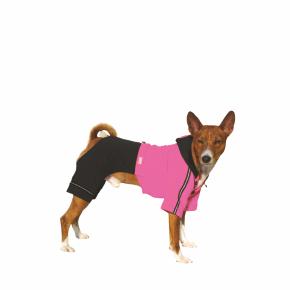 Kombinéza Kim 4 – růžovo-černá