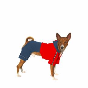 Kombinéza Kim 5 – modro-červená