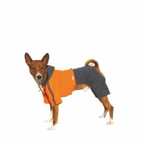 Kombinéza Kim 5 – oranžovo-šedá