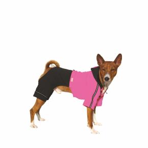 Kombinéza Kim 5 – růžovo-černá