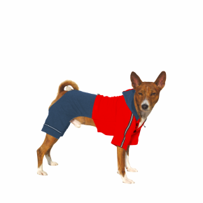 Kombinéza Kim 6 – modro-červená
