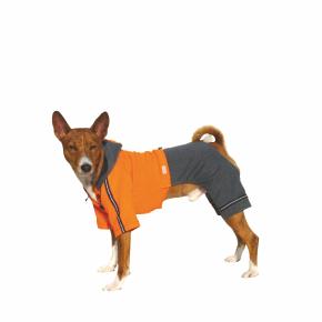 Kombinéza Kim 6 – oranžovo-šedá