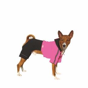 Kombinéza Kim 6 – růžovo-černá