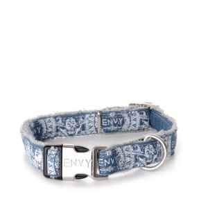 Envy - obojek Hippy 25 mm, modrý